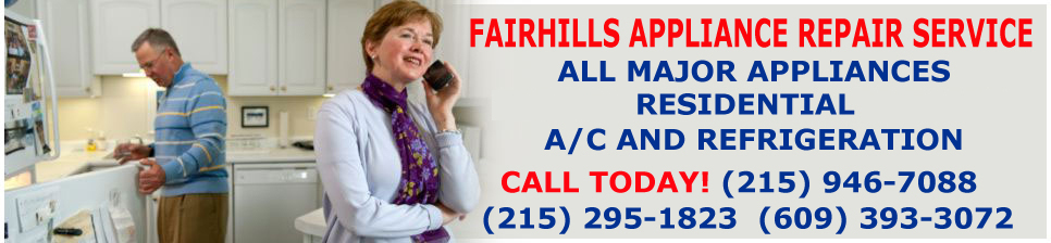 Expert Appliance Repair - Washington Crossing Pa ! Refrigeration AC Repair 215-946-7088